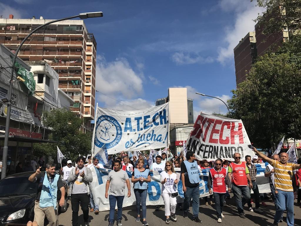 El Frente Gremial Docente celebra suspensión de la emergencia educativa