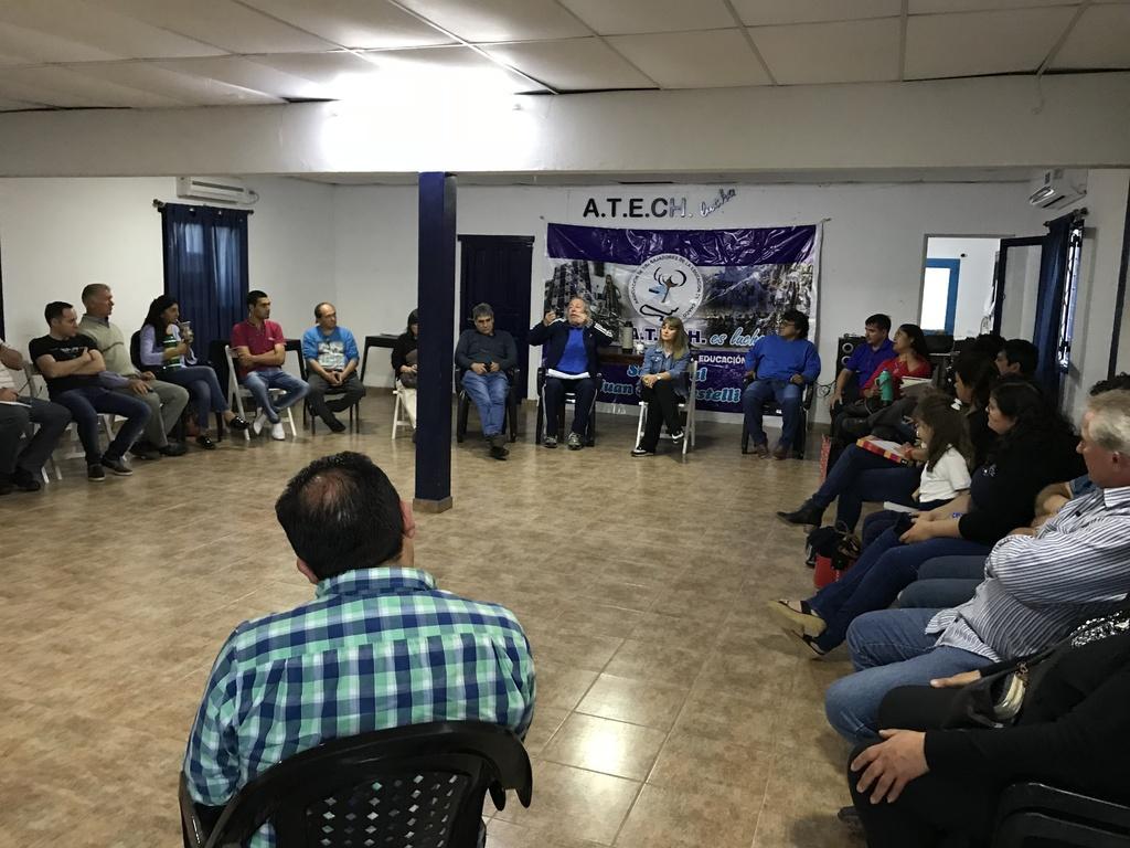 ATECh recibe preocupación de docentes de Secundaria