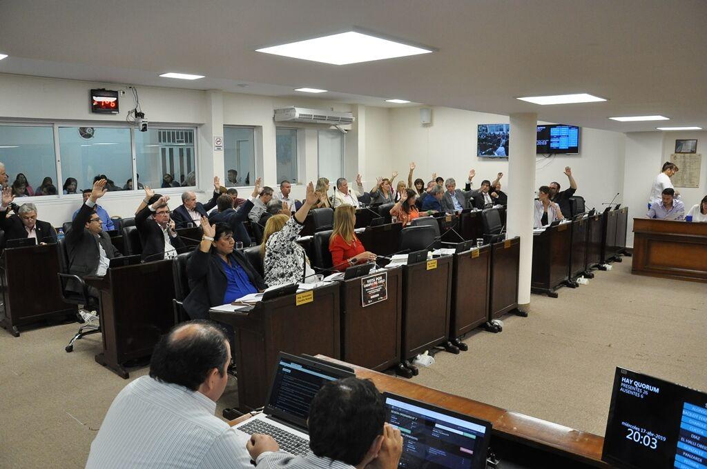 La Cámara da ingreso a los vetos a la auditoría de SECHEEP y la bonificación del Cargo Específico