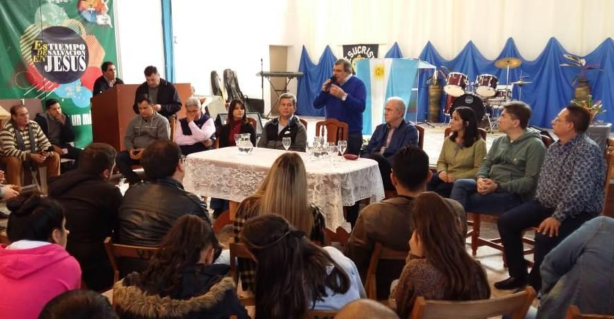 Carim Peche afirmó que hay que «refundar la provincia»