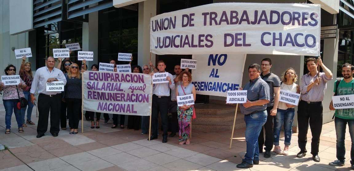 La Unión Judicial inicia semana de paros - Chaco On Line