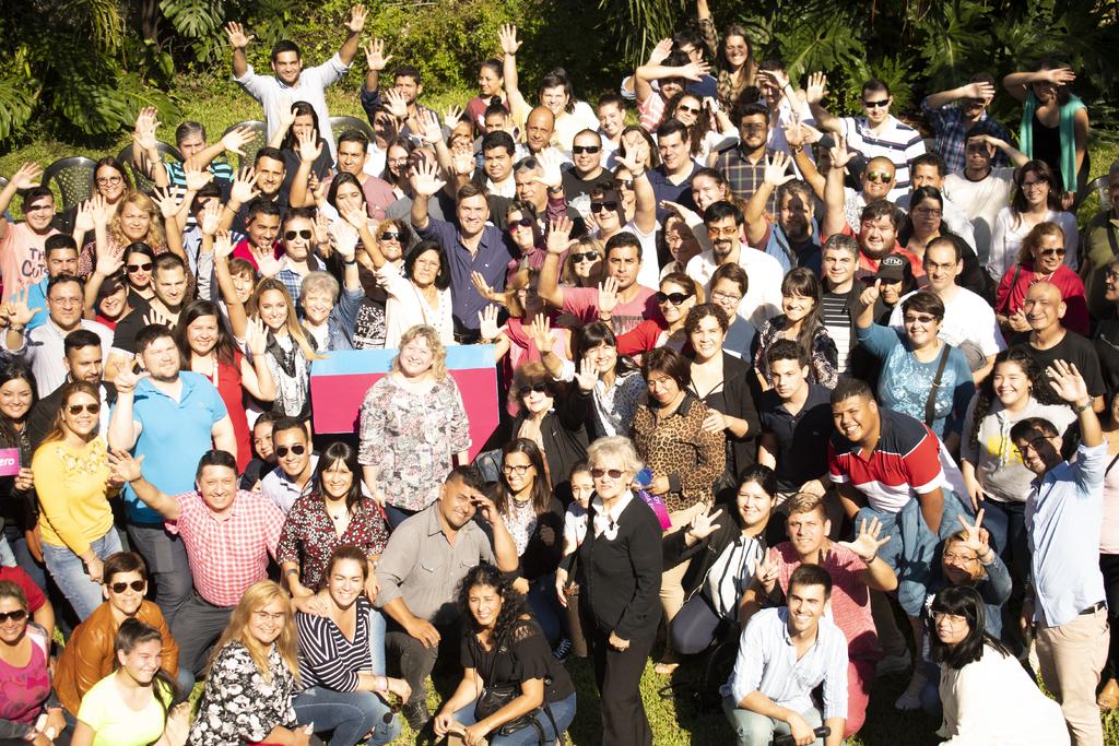 Leando Zdero incorporó a los primeros voluntarios que quieran acompañar su proyecto político